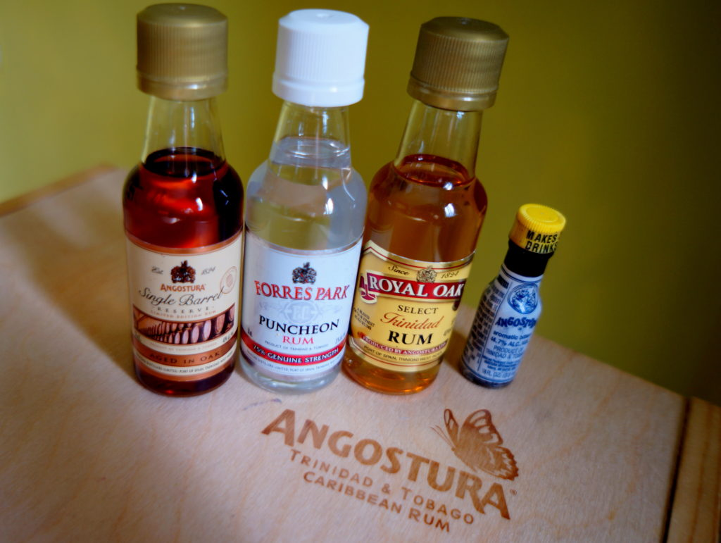 Angostura Single Barrel, Forres Park Puncheon Rum, Royal Oak Select Trinidad Rum