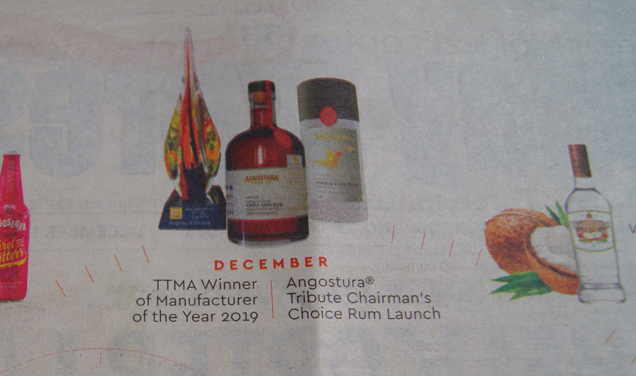 Angostura Tribute Chairman's Choice Rum
