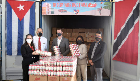 Vemco celebrates first shipment from Trinidad to Cuba