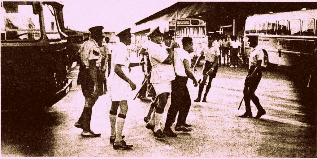 1969 bus worker strike in Trinidad