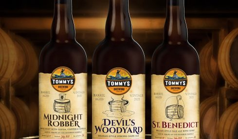 Tommy's Brewing Company Barrel Aged Beer